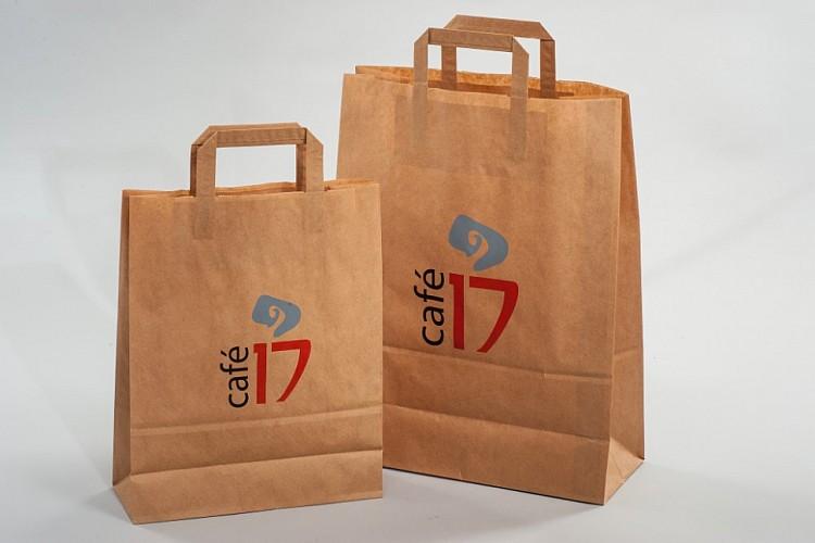 пакеты крафт с логотипом